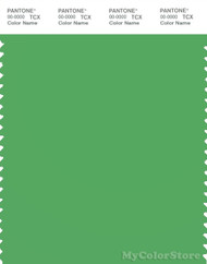 PANTONE SMART 16-6339X Color Swatch Card, Vibrant Green