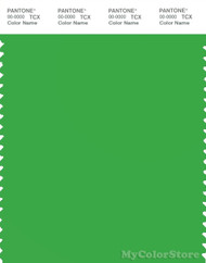 PANTONE SMART 16-6340X Color Swatch Card, Classic Green