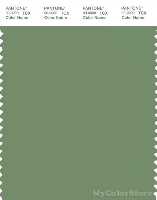 PANTONE SMART 17-0220X Color Swatch Card, Water Cress