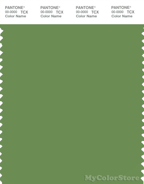 PANTONE SMART 17-0230X Color Swatch Card, Forest Green