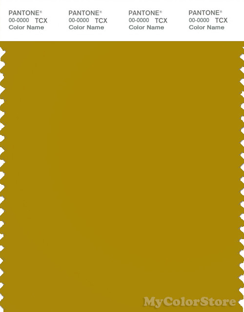 PANTONE SMART 17-0839X Color Swatch Card, Golden Palm