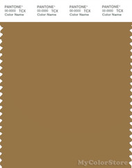 PANTONE SMART 17-0942X Color Swatch Card, Medal Bronze