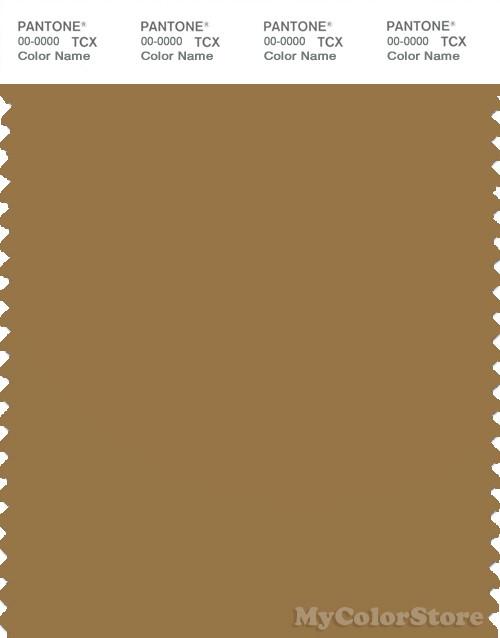 PANTONE SMART 17-0942X Color Swatch Card, Medal Bronze