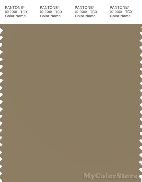 PANTONE SMART 17-1019X Color Swatch Card, Elmwood