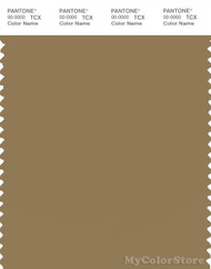 PANTONE SMART 17-1028X Color Swatch Card, Antique Bronze