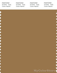 PANTONE SMART 17-1036X Color Swatch Card, Bistre