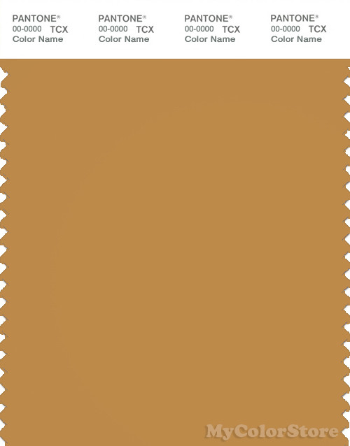 PANTONE SMART 17-1040X Color Swatch Card, Spruce Yellow