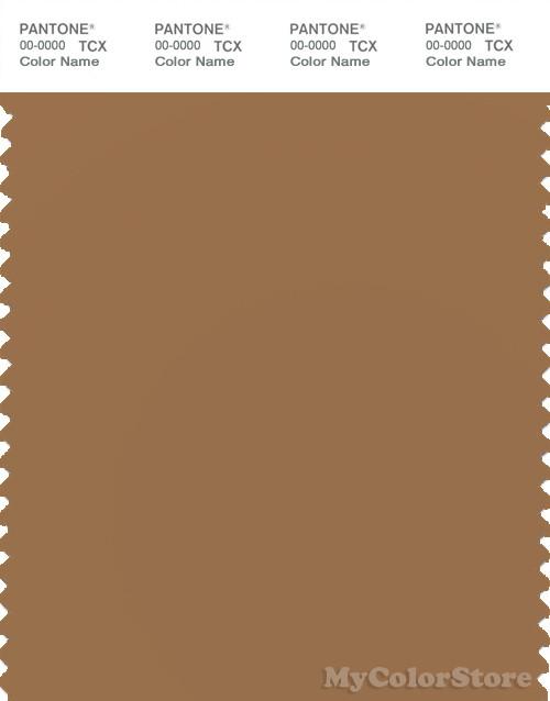 PANTONE SMART 17-1044X Color Swatch Card, Chipmunk
