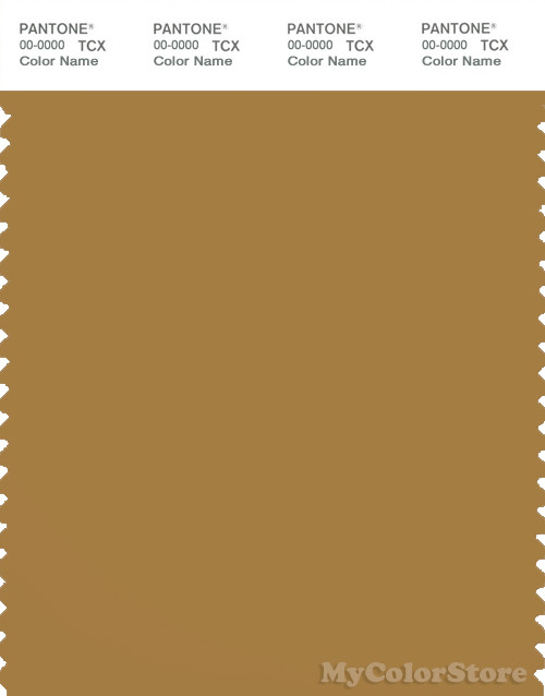 PANTONE SMART 17-1129X Color Swatch Card, Wood Thrush