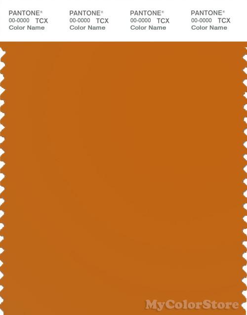 PANTONE SMART 17-1140X Color Swatch Card, Marmalade