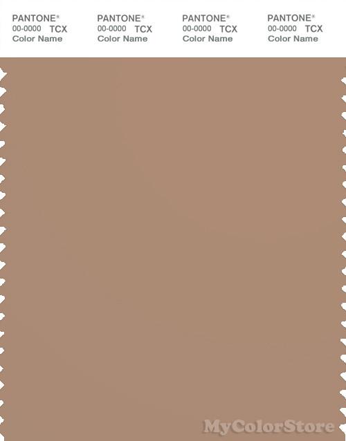 PANTONE SMART 17-1223X Color Swatch Card, Praline