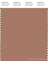 PANTONE SMART 17-1230X Color Swatch Card, Mocha Mousse