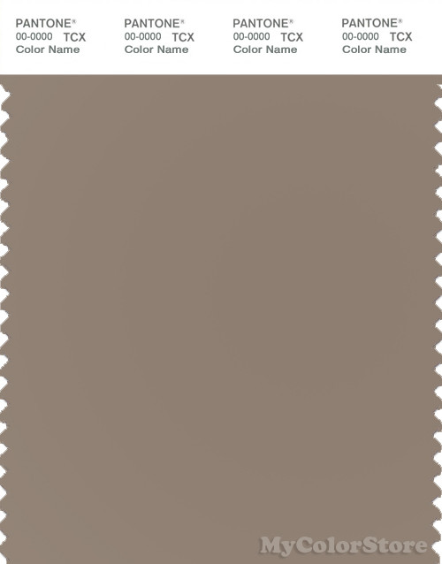 PANTONE SMART 17-1311X Color Swatch Card, Desert Taupe