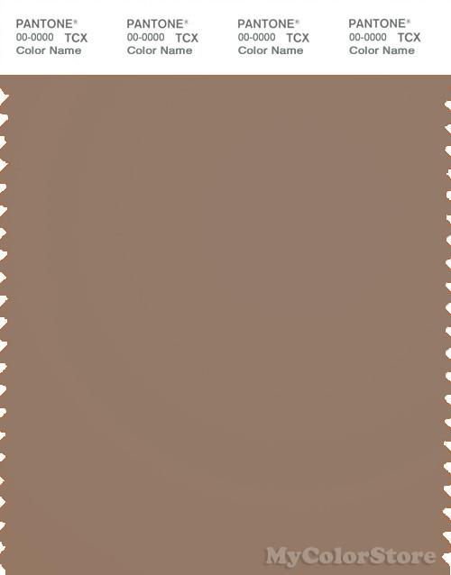 PANTONE SMART 17-1316X Color Swatch Card, Portabella