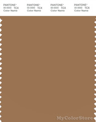 PANTONE SMART 17-1327X Color Swatch Card, Tobacco Brown