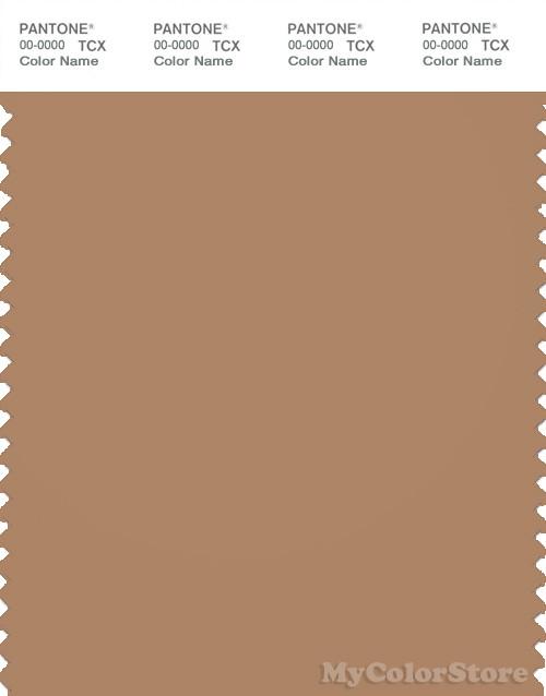 PANTONE SMART 17-1328X Color Swatch Card, Indian Tan