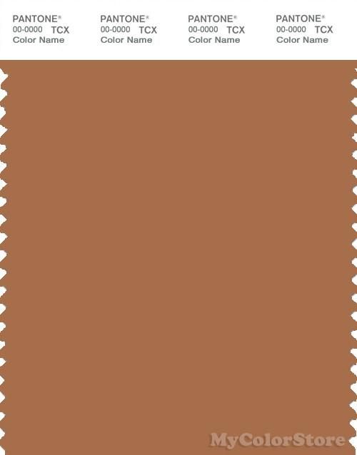 PANTONE SMART 17-1336X Color Swatch Card, Bran