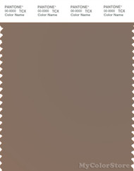 PANTONE SMART 17-1410X Color Swatch Card, Pine Bark