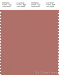 PANTONE SMART 17-1424X Color Swatch Card, Brick Dust