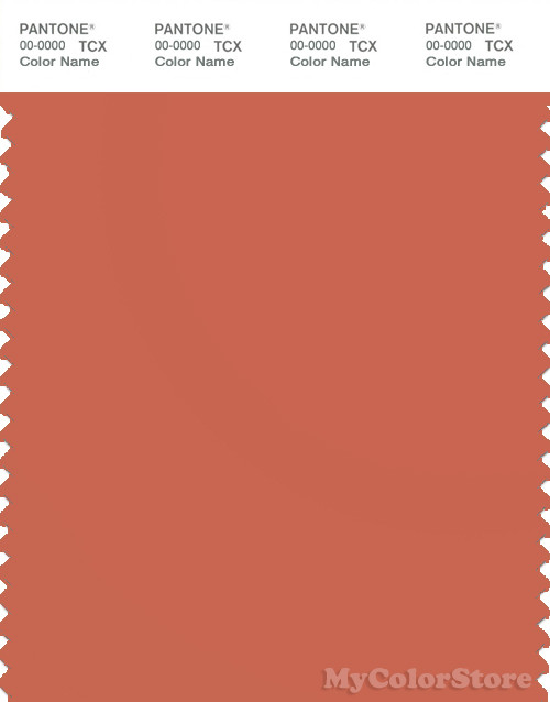 PANTONE SMART 17-1444X Color Swatch Card, Ginger