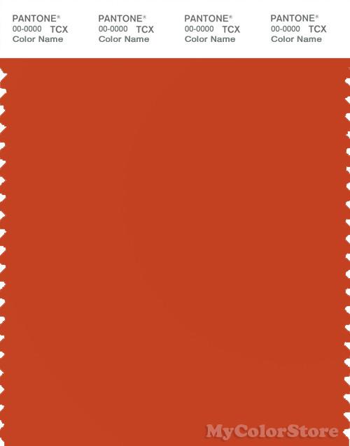 PANTONE SMART 17-1449X Color Swatch Card, Pureed Pumpkin