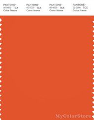 PANTONE SMART 17-1461X Color Swatch Card, Orangeade