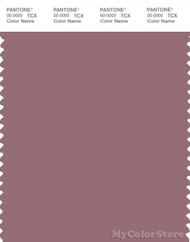 PANTONE SMART 17-1511X Color Swatch Card, Rose Gray