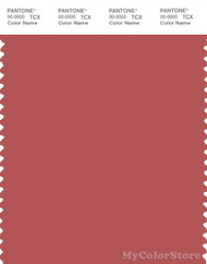 PANTONE SMART 17-1537X Color Swatch Card, Mineral Red