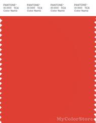 PANTONE SMART 17-1558X Color Swatch Card, Grenadine