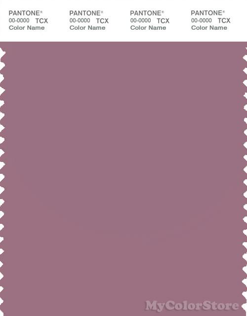 PANTONE SMART 17-1610X Color Swatch Card, Dusky Orchid