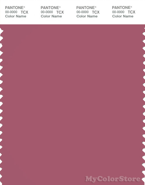 PANTONE SMART 17-1623X Color Swatch Card, Rose Wine