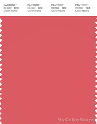 PANTONE SMART 17-1635X Color Swatch Card, Rose Of Sharon