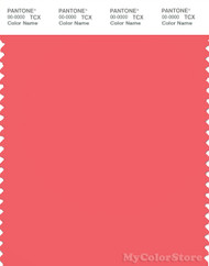 PANTONE SMART 17-1647X Color Swatch Card, Dubarry