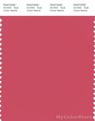 PANTONE SMART 17-1740X Color Swatch Card, Claret Red