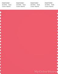 PANTONE SMART 17-1744X Color Swatch Card, Calypso Coral
