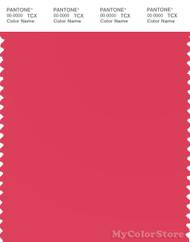 PANTONE SMART 17-1753X Color Swatch Card, Geranium