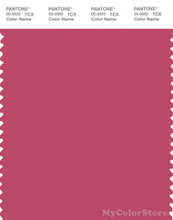 PANTONE SMART 17-1831X Color Swatch Card, Carmine