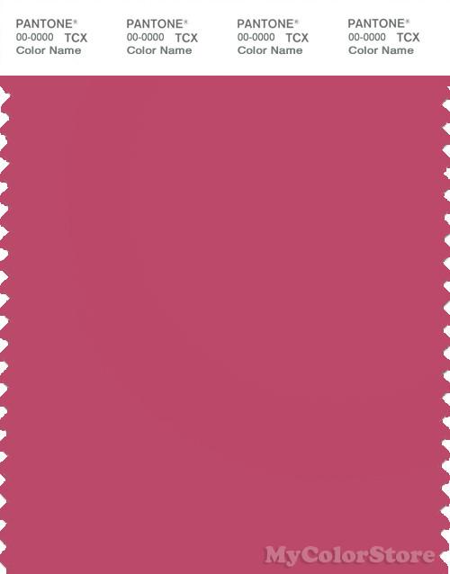 PANTONE SMART 17-1831X Color Swatch Card, Carmine