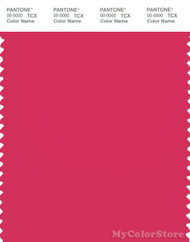 PANTONE SMART 17-1842X Color Swatch Card, Azalea