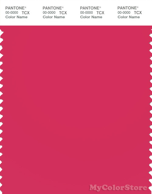 PANTONE SMART 17-1842X Color Swatch Card, Azalea