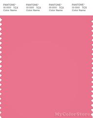 PANTONE SMART 17-1928X Color Swatch Card, Bubblegum