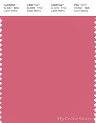 PANTONE SMART 17-1929X Color Swatch Card, Rapture Rose