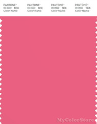 PANTONE SMART 17-1930X Color Swatch Card, Camillia Rose