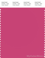 PANTONE SMART 17-2031X Color Swatch Card, Fuchsia Rose