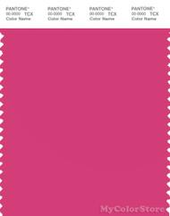 PANTONE SMART 17-2036X Color Swatch Card, Magenta