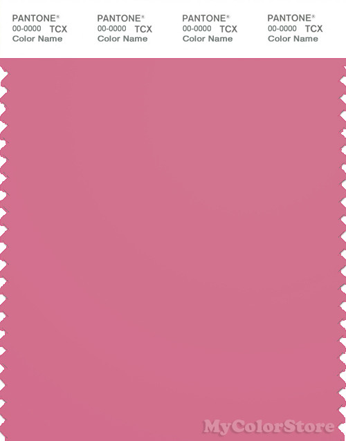 PANTONE SMART 17-2120X Color Swatch Card, Chateau Rose