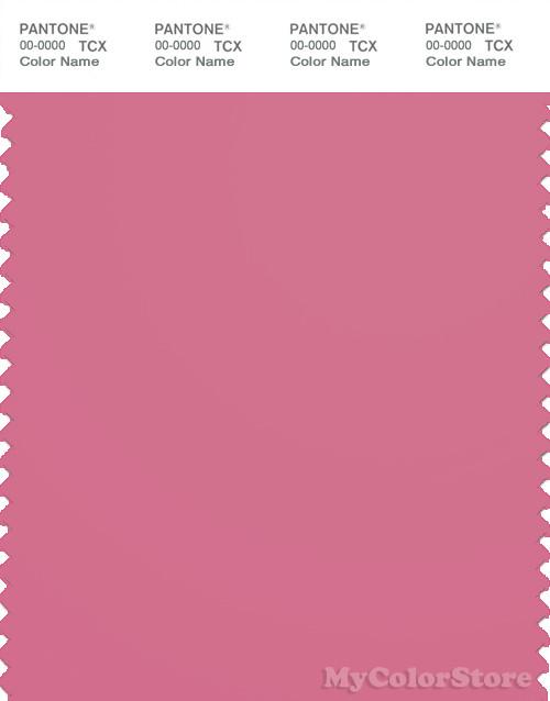 PANTONE SMART 17-2120X Color Swatch Card, Chateau Rose