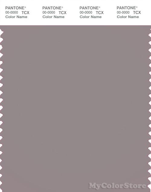 PANTONE SMART 17-2601X Color Swatch Card, Zinc