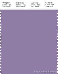 PANTONE SMART 17-3615X Color Swatch Card, Chalk Violet