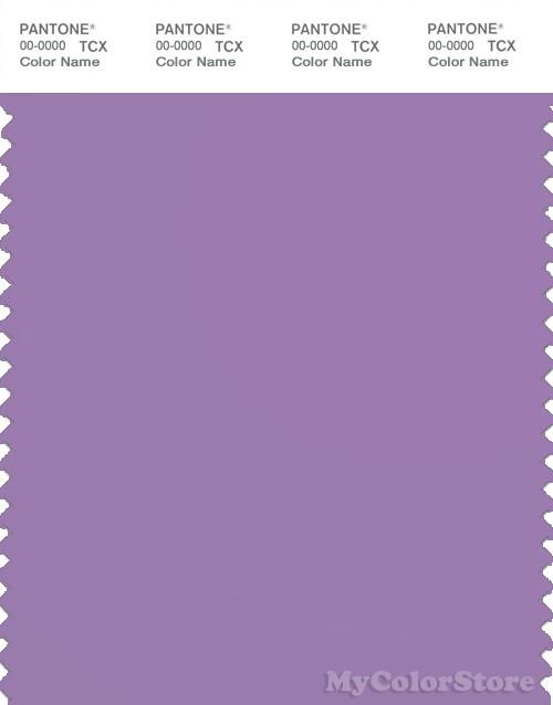 PANTONE SMART 17-3617X Color Swatch Card, English Lavender